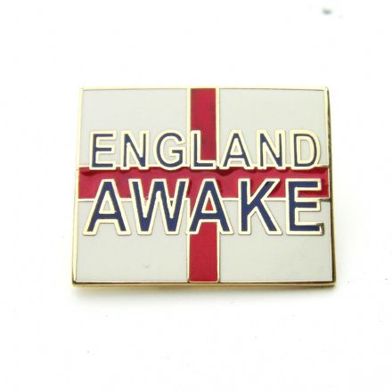 """England Awake"" Lapel Badge"